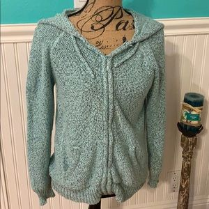 Wet Seal Teal Knit Sweater Size Large